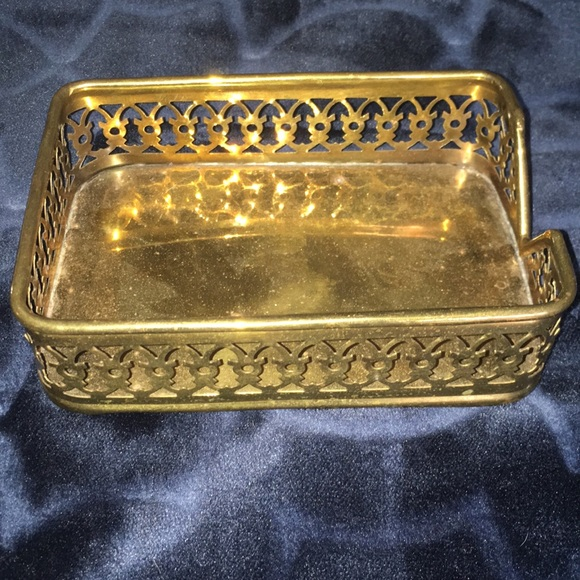 Other - Solid Brass Tray - Made in India